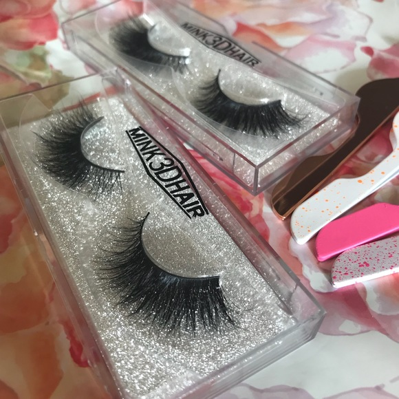 58138d9a544 Makeup | Mink 3d Lashes 2 Pairs 1 Free Applicator | Poshmark